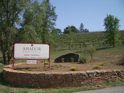 Amador Foothill Winery 12500 Steiner Rd Plymouth Ca
